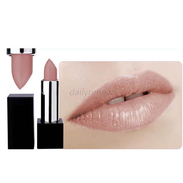 12PCS Beauty Cosmetic Makeup Long Lasting Bright Lipstick Lip Stick Nude Colors