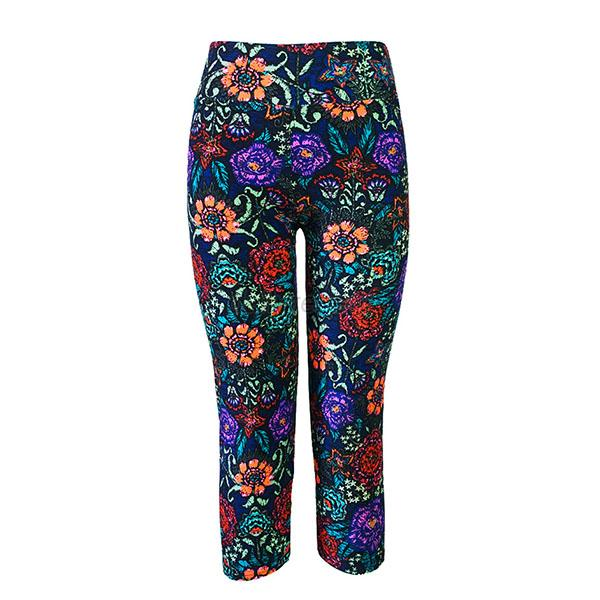 Brilliant Discounted Lucky Brand Womens Black Multi JTNC970QTYJ Paisley Printed Pant Hot Sale