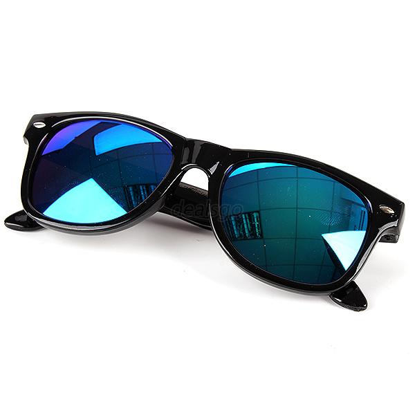 Kids Toddlers Eyewear Plastic Frame Spectacles Children Mirrored Sunglasses D37