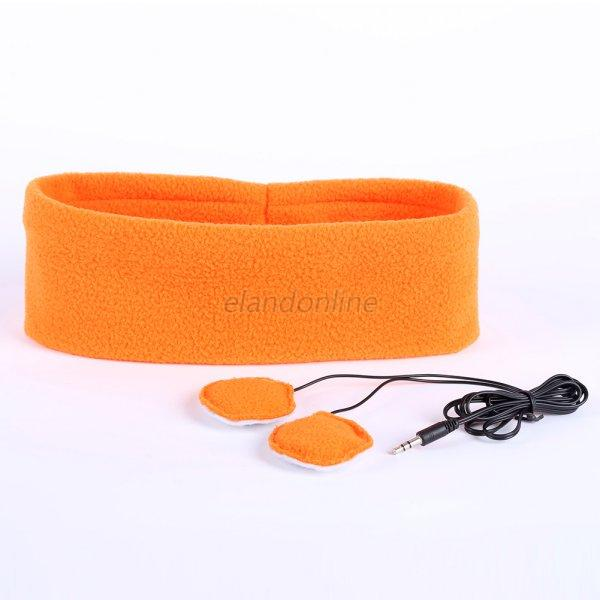 Soft Sleeping Sports Headphone Headsets Headband Eye Mask