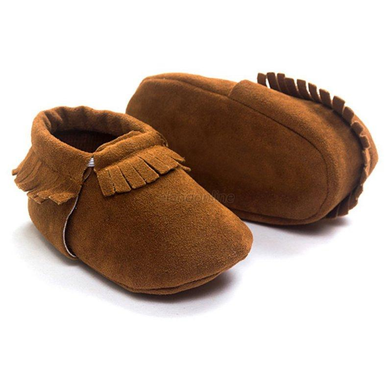 toddler infant baby kid moccasin crib shoes baby soft