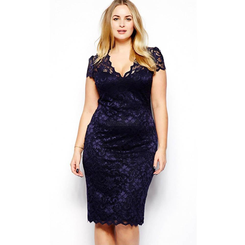 Short Dresses For Plus Size Women