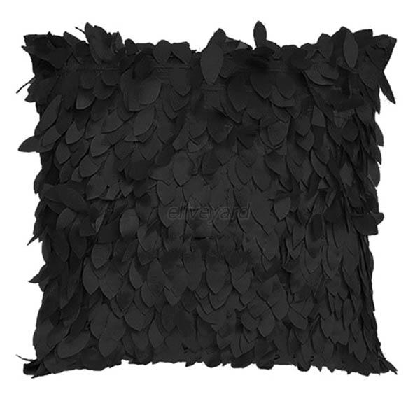 Fashion Fallen Leaves Leaf Feather Throw Pillow Cover Pillow Cushion Case Decor
