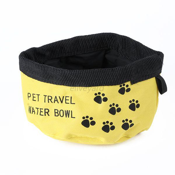 Water Rover Portable Pet Bowl: Portable Camp Travel Pet Water Bowl Cat Dogs Feeder 3