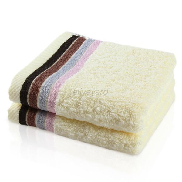 Soft Cotton General Hand Bath Towels Absorbent Fashion