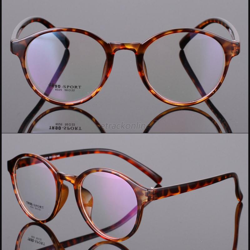 Retro Eyeglasses Frame Full-Rim Men Women Vintage Glasses ...