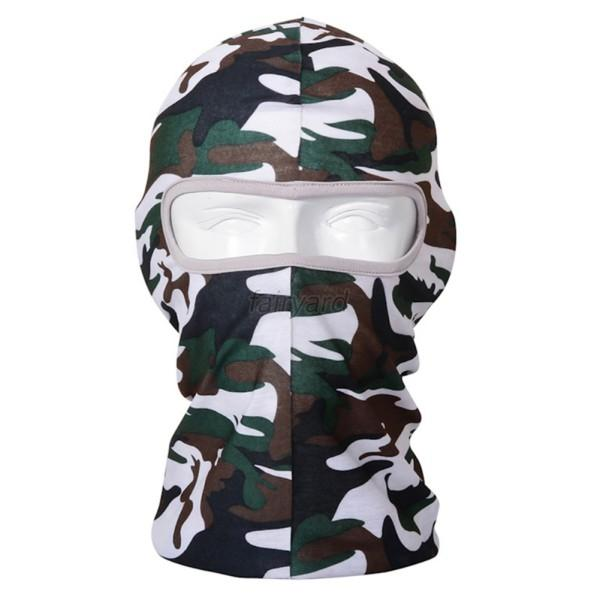 Summer Sun Cycling Polyester Balaclava Ultra UV Protection Mask Face Mask Unisex