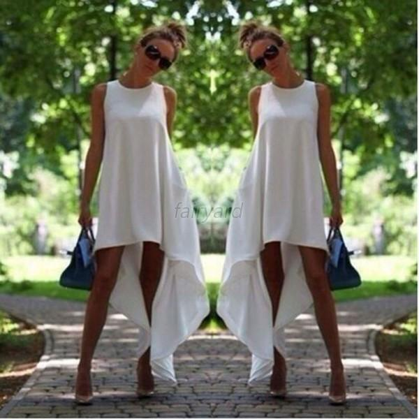 Fashion Women's Summer Sleeveless Evening Sexy Party Cocktail Short Mini Dress