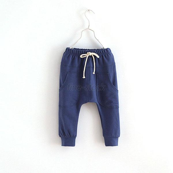 Child Gym Running Kid Toddler Jersey Harem Pants Baby Boy Girl Chic Trousers F30