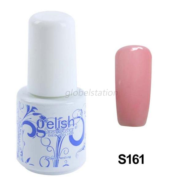 6ml Soak-off Gel Nail Polish Long-lasting Base Top Coat UV LED Lamp Manicure DIY