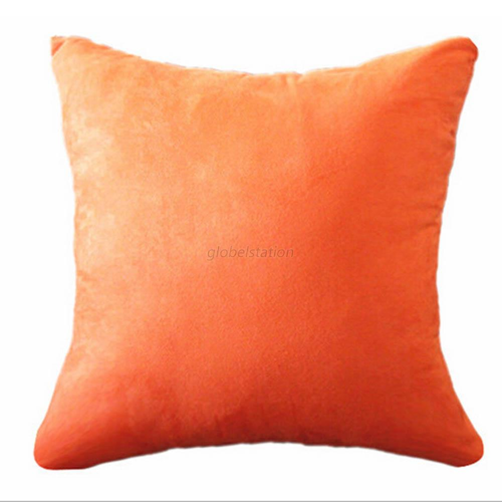 Home Decor Square Soft Throw Pillow Case Cushion Cover Pillow Case Sofa Car G33 eBay