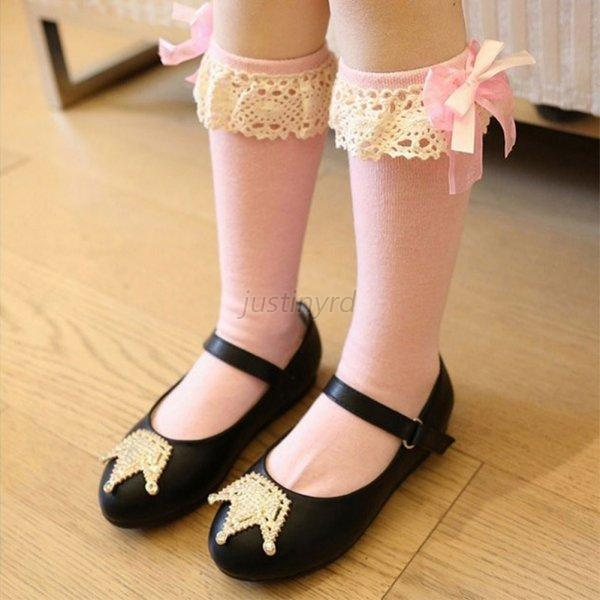 Lovely Kids Baby Toddler Girl Princess Soft Cotton Lace