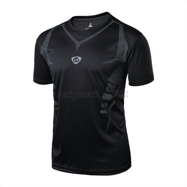 Men's Quick Dry Wicking T-shirts Breathable Sports Fitness Shirt Tops M/L/XL/XXL
