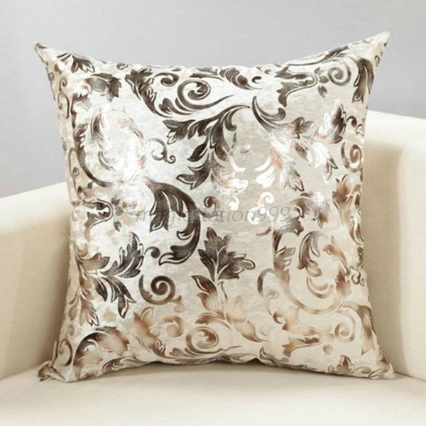 multi color floral pattern cushion case cover sofa bed