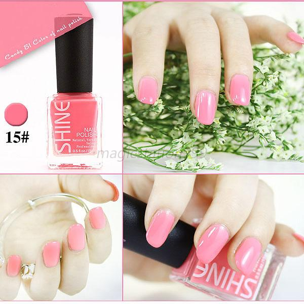 Wholesale Nail Polish Lacquer Nail Varnish Nail Art Care Manicure Tips 45 Colors