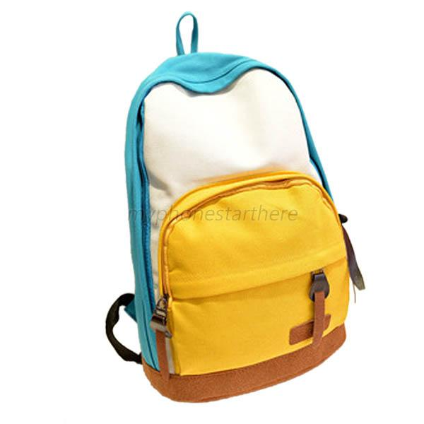 Women Backpack School Shoulder Bag Girls Students Rucksack Canvas Travel Bags