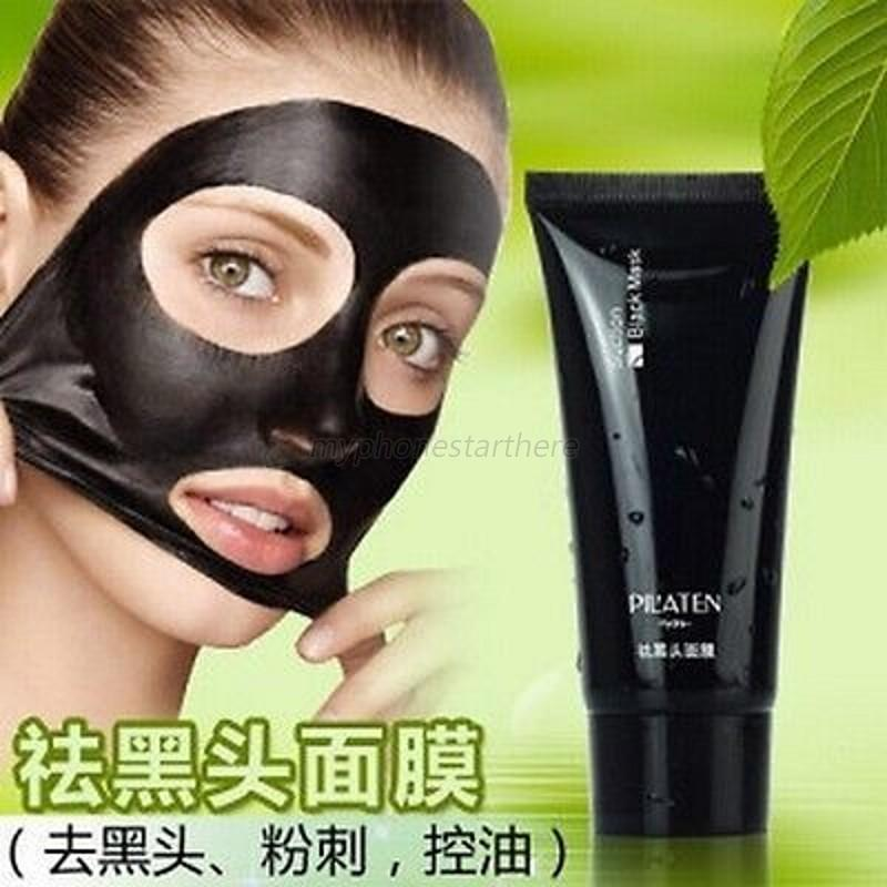 Facial Deep Cleansing Purifying Blackhead Remover Acne Black Mud Face Mask MYH