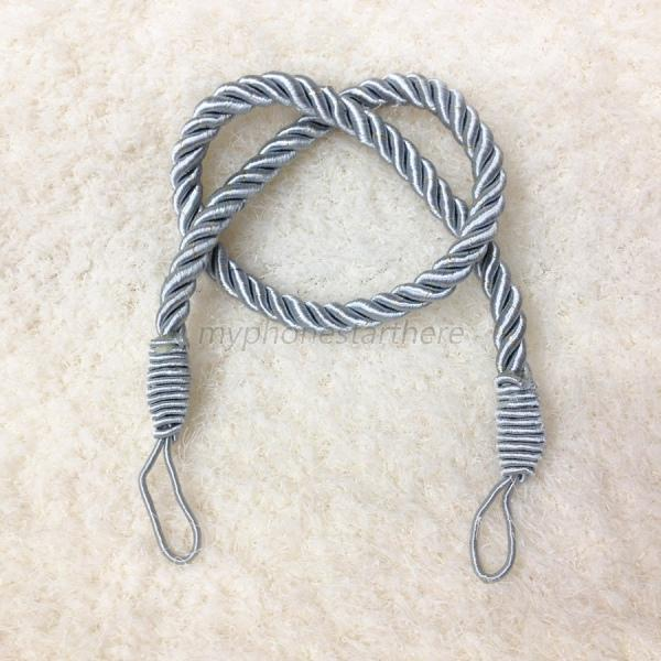 Hot 1 X Polyester Curtain Cord Rope Curtain Tiebacks Tie