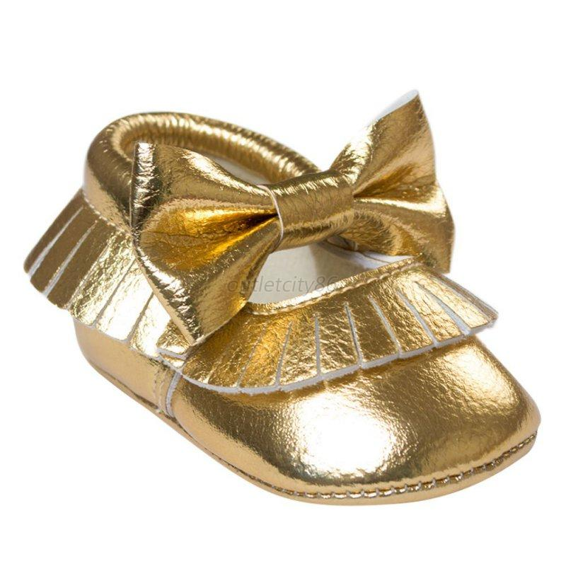 baby soft soled pu leather shoes infant toddler