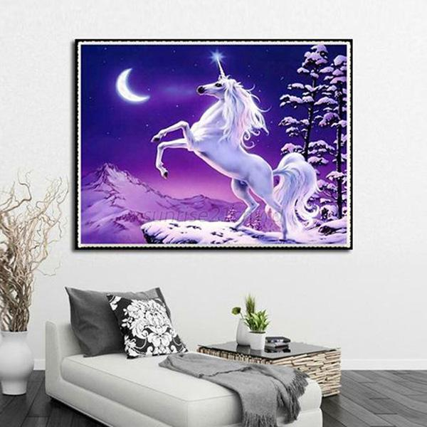 5d diamond embroidery painting room home decor craft for Home decor 5d