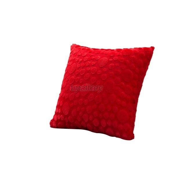 Throw Pillows Bulk : Wholesale Square Soft Plush Faux Fur Fleece Throw Pillow Cover Cushion Case 17 eBay
