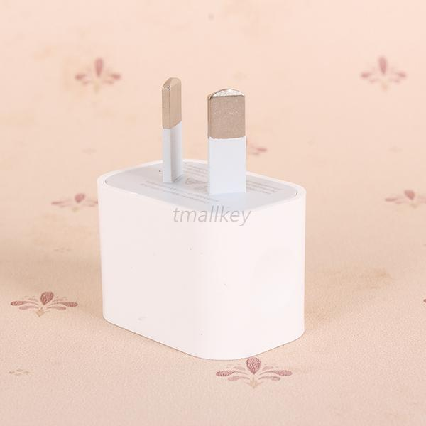Travel Adapter Wall Charger USB Port US/EU/AU/ Plug White For iPhone 6 6G T49