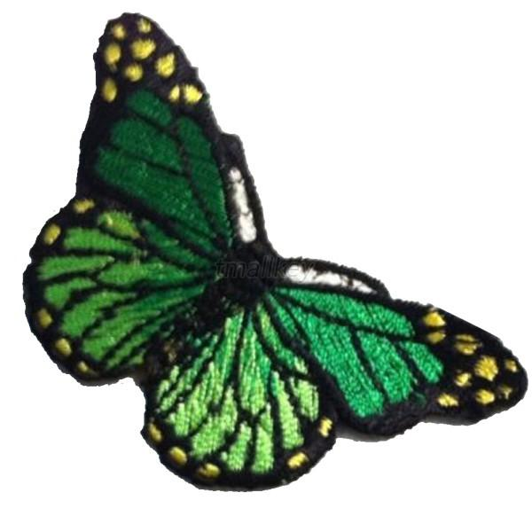 Vogue Embroidered Butterfly Cloth DIY Patch iron sew on Appliques/scrapbook T23