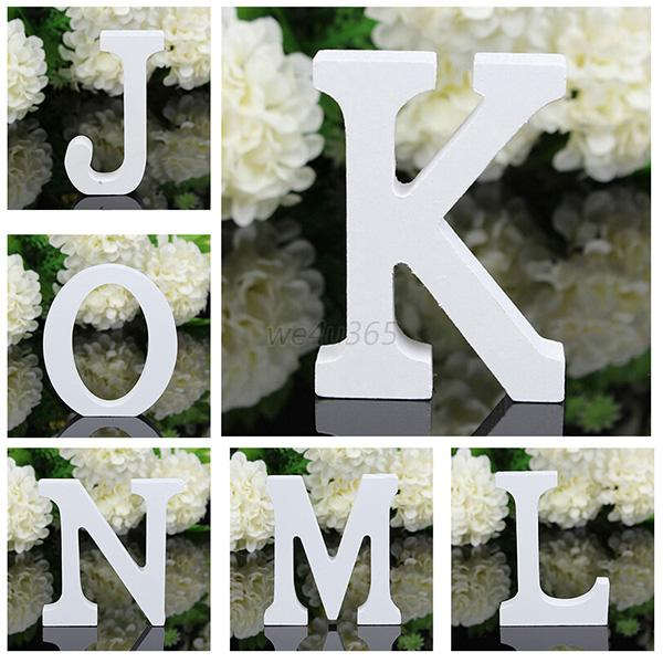 Wooden Word Letter Plaque Free Standing Personalised