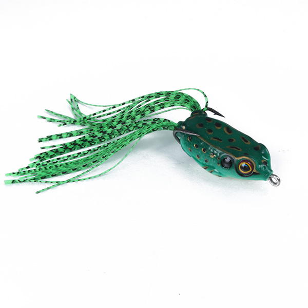 Fishing crankbaits frog lures baits hook bass artificial for Frog lures for bass fishing