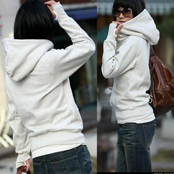 Womens-High-tie-Hooded-Coat-Pullover-Encase-Finger-Long-Sleeve-Sweater-Hot-Sale